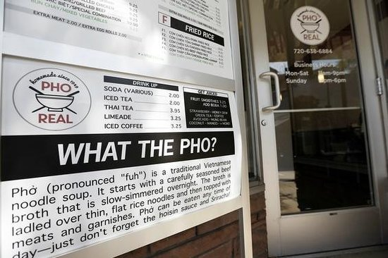 Pho Real: Come visit Littleton's NEWEST addition!!!