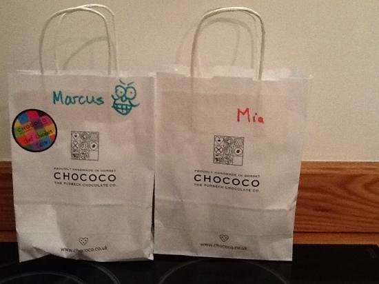 Chococo: a bag of hand made goodies
