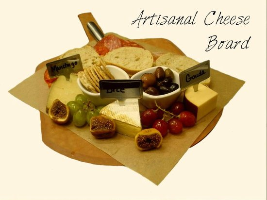 The Wine Bar At Vintner Valley: Cheese Board