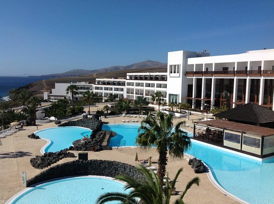 View from room - Picture of Hesperia Lanzarote, Puerto ...