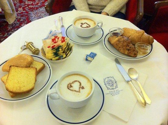Bel Sito e Berlino: Parte della colazione