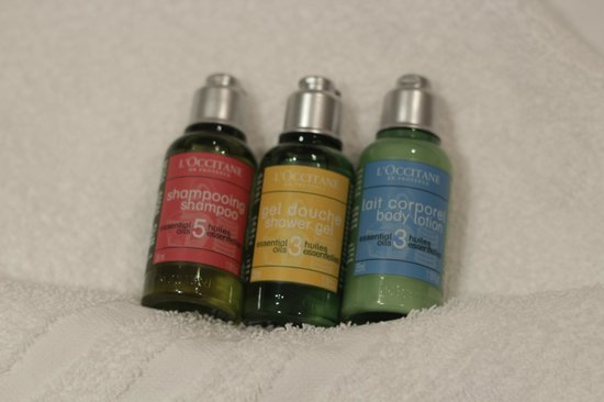 The Oriental : Complimentary Toiletries