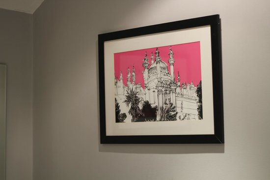 The Oriental : Artwork in the room