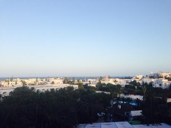 Hotel Kanta : Sea view from balcony (5th floor)
