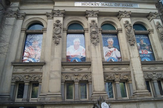 Hockey Hall of Fame: View from the outside
