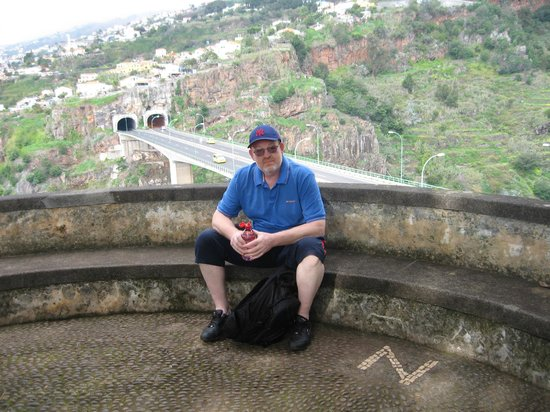 Madeira Botanical Garden : The height of the gardens suprised me!