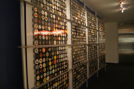 Hockey Hall of Fame: Wall of HHOF pucks
