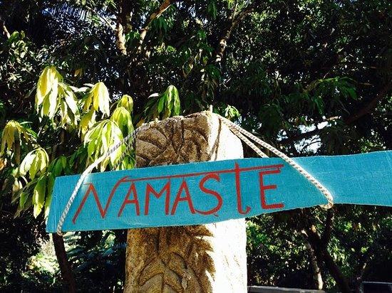 Namaste: The entrance