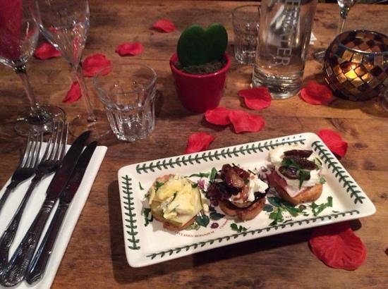 The Fountain Inn Gastro Pub: Valentine starter