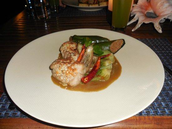 Bait Al Bahr : Le poisson est préparé à l'aide de différentes sauces