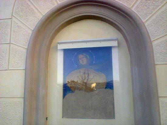 Hotel Villa Silvana: Maria assunta in cielo (affresco dell'800