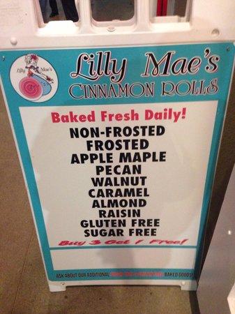 Lilly Mae's Cinnamon Rolls