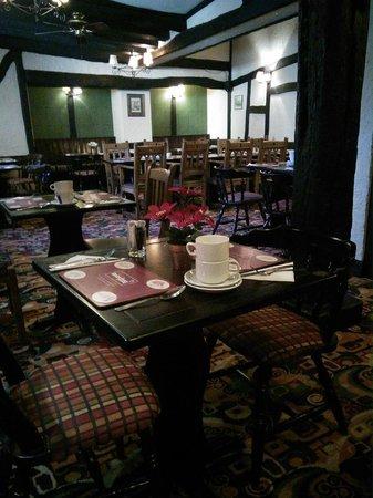 The New Inn-Relaxinnz: Dining area