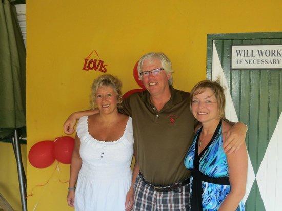 Landhuis Misje: Tena, Rick Cameron and Sandi Adair