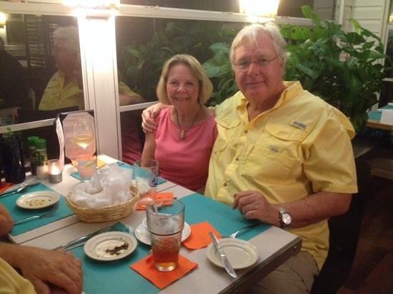 Blu' Island Bistro: dinner at the Blu Island