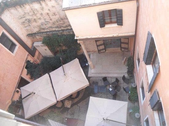 Liassidi Palace Hotel: View from our room - room 407