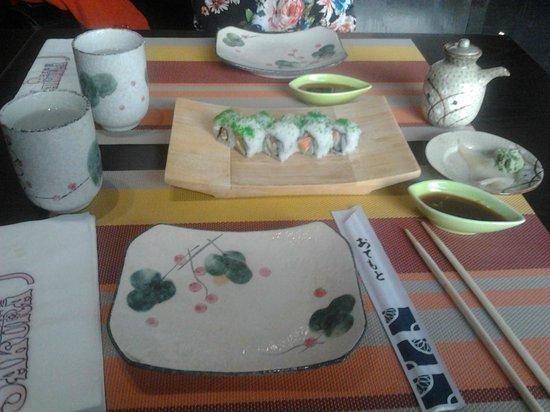 Sakura: sushiwashabi