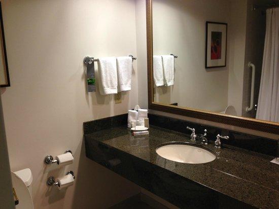 Renaissance Fort Lauderdale Cruise Port Hotel: Bathroom