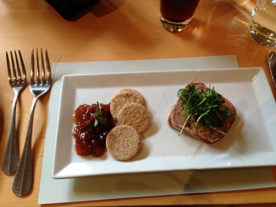 Michael Neave's Kitchen and Whisky Bar: Terrine Starter