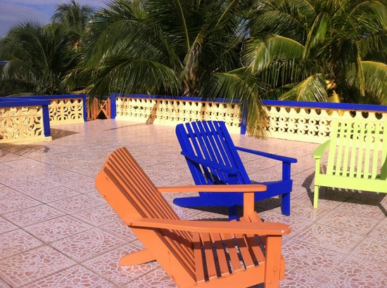 "Coconut Row Guest House : Lounge area on top of Sunrise Suite @ ""Coconut Row"""
