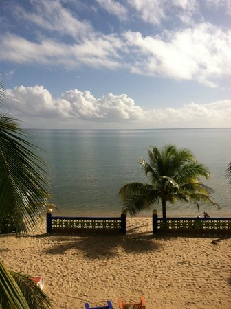 """Coconut Row Guest House : morning coffee view   """"Coconut Row"""""""