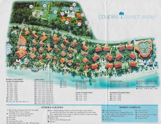 Resort Layout Picture Of Couples Swept Away Negril Tripadvisor: Map Of Couples Resorts In Jamaica At Infoasik.co
