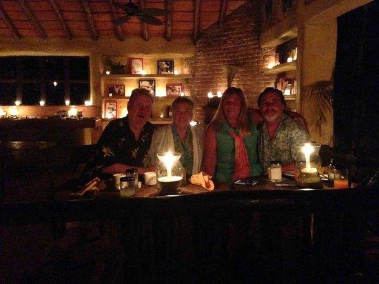 Rhythms of the Night by Vallarta Adventures: Delightful dinner in authentic John Houston Library!