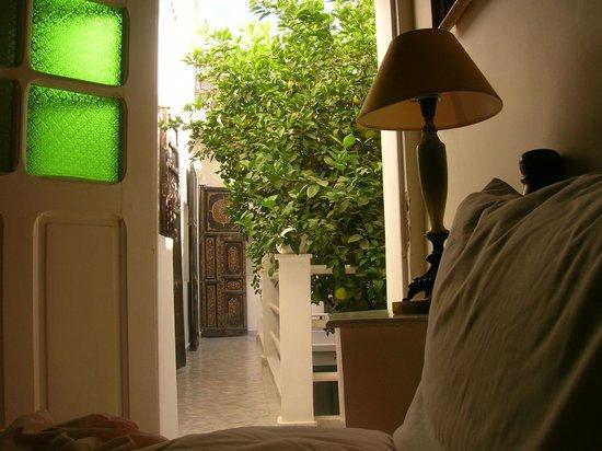 Hotel du Tresor: Blick aus einem Zimmer