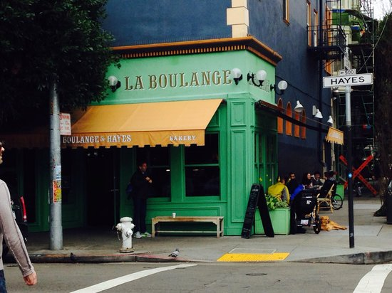 La Boulange de Hayes : View from Hayes St.