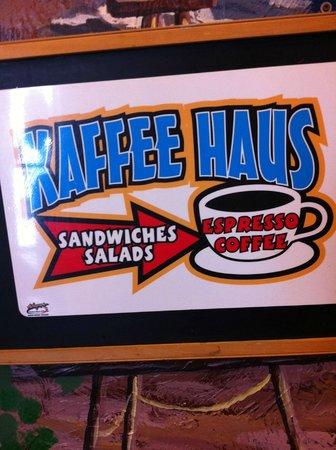 Frankenmuth Kaffee Haus: Kaffee Haus Sign