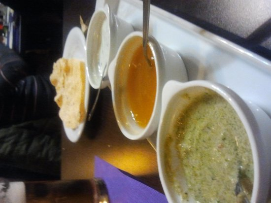 Madras Masala Indian Restaurant: entrantes