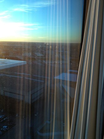 Omni Dallas Hotel: View from the room - 22 stories up