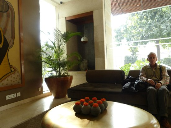 The Visaya: accogliente hall