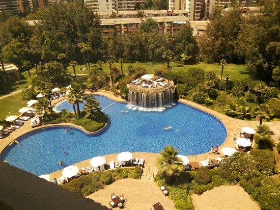 Piscina picture of hotel santiago santiago tripadvisor for Piscina hotel w santiago