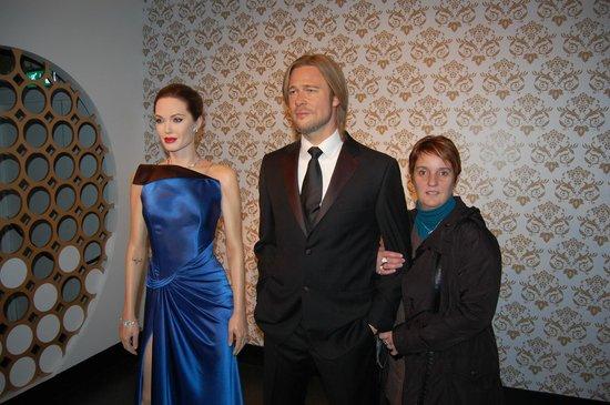 Madame Tussauds London: Angelina Jolie et Brad Pitt