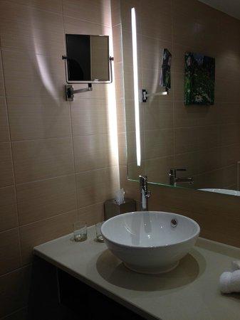 Hilton Garden Inn Davos: Waschbecken