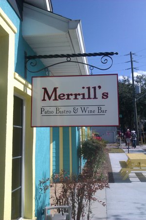 Merrill's Patio Bistro and Wine Bar : Great food, fun times!!