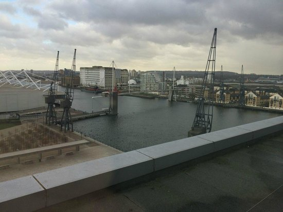 Novotel London ExCeL: River view from bedroom