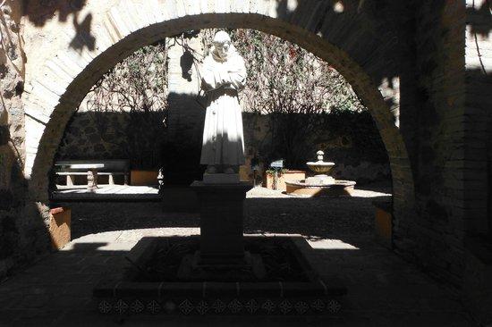 Museo Exhacienda San Gabriel de Barrera : Jardín de San Francisco
