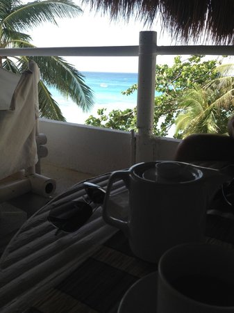 Artista Beach Villas : Breakfast view