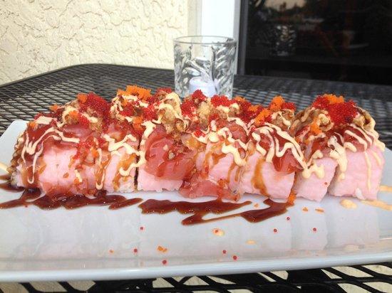 Blaze Bistro: pink panther roll