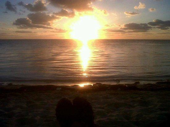 Hotel Los Arrecifes Costa Maya : Amanecer