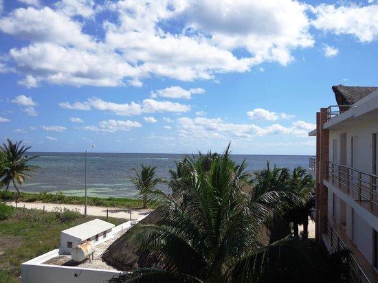 Hotel Los Arrecifes Costa Maya : Desde habitación