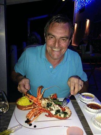 La Plage Restaurant: Langouste 650g