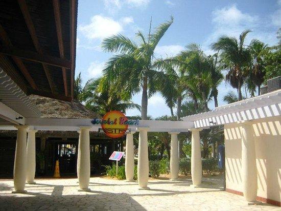Divi Aruba Phoenix Beach Resort: Área externa linda...bistrô.