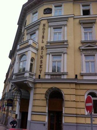 Hotel Kinsky Garden: hotel kinsky