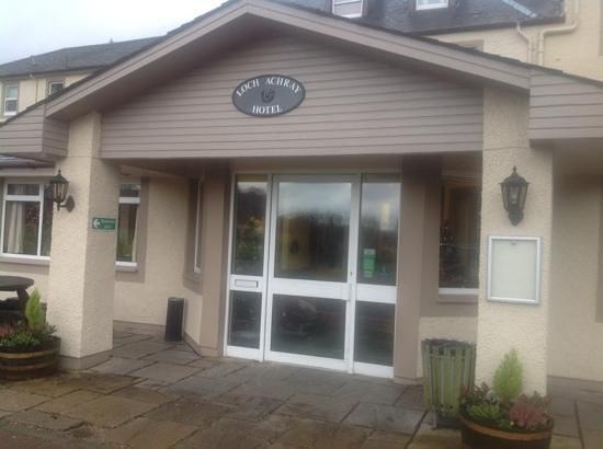 Loch Achray Hotel: The Entrance