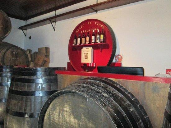 Museu do Vinho : sala de provas