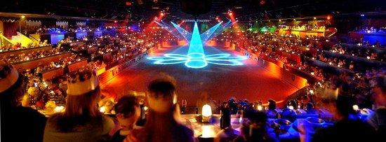 Meval Times Arena Lights