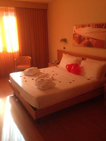 Montemezzi Hotel: Bellissima presentazione per San Valentino